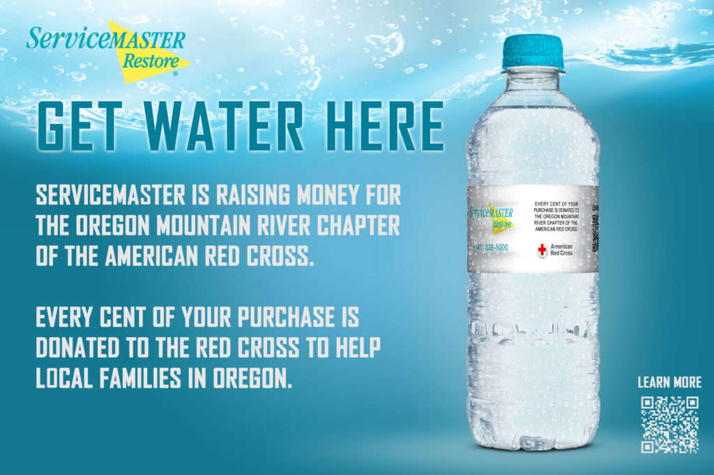 Water Bottle Fundraiser the For Red Cross in Central Oregon