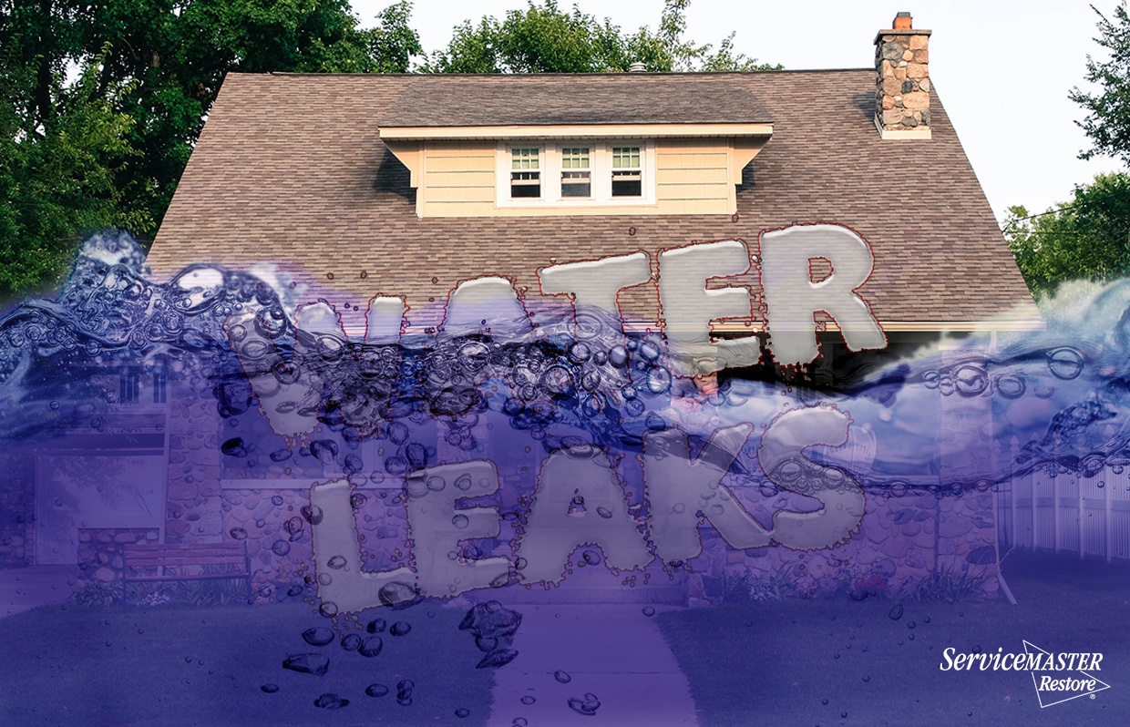Know A Water Leak In Your House Bend Or Servicemaster